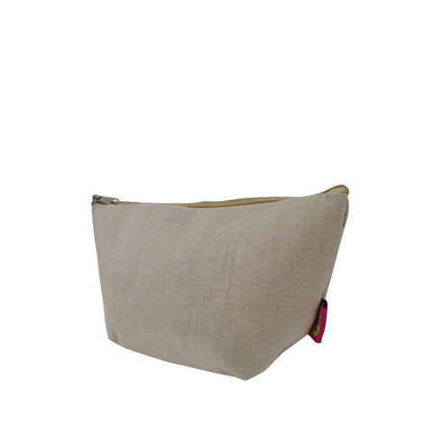 Jute NGIL Cosmetic Travel Bag