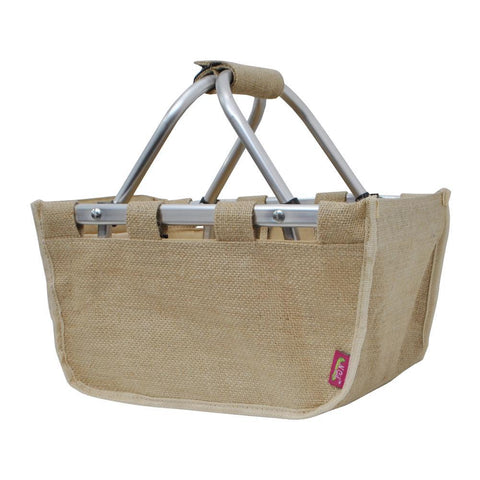 Jute/Juco NGIL Collapsible Picnic Basket