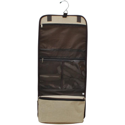 Solid Jute NGIL Traveling Toiletry Bag