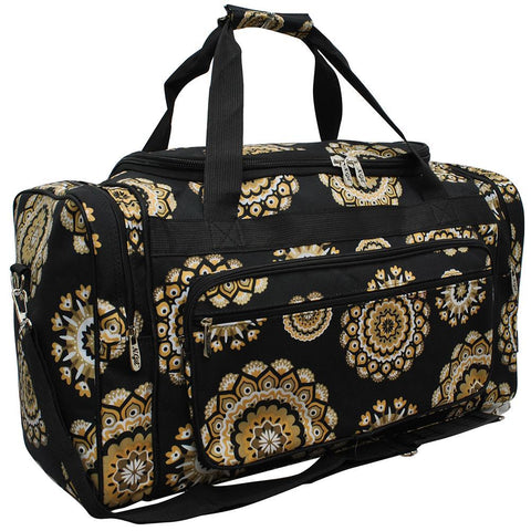 "Mandala Dream NGIL Canvas 23"" Duffle Bag"