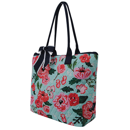 Floral Blossom NGIL Quilted Tote Bag