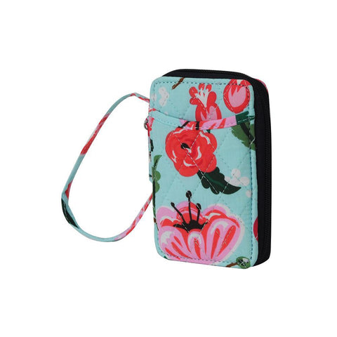 Floral Blossom NGIL Quilted Wristlet Wallet