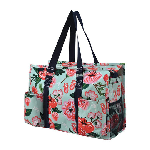 NGIL Brand, Personalized Travel Bag, monogram gift ideas, personalized accessories for mom, nurse tote organizer wholesale, gifts for mom, teacher personalized tote bags, best teacher accessories, best nurse accessories, nurse thank you gifts, student nurse bag, floral blossom, floral blossom bags for teachers, floral print tote for nurses.
