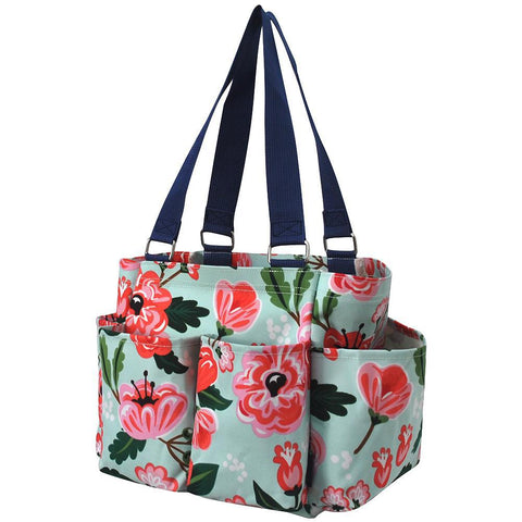 NGIL Brand, monogram gift set, monogram tote bag canvas, personalized tote bags for women, monogram bags totes, teacher tote personalized, nurse canvas tote bags, teacher gift ideas, small floral utility tote, small flower totes, small flower tote bags,