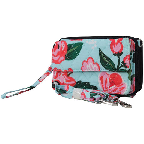 Floral Blossom NGIL Quilted All In One Wallet
