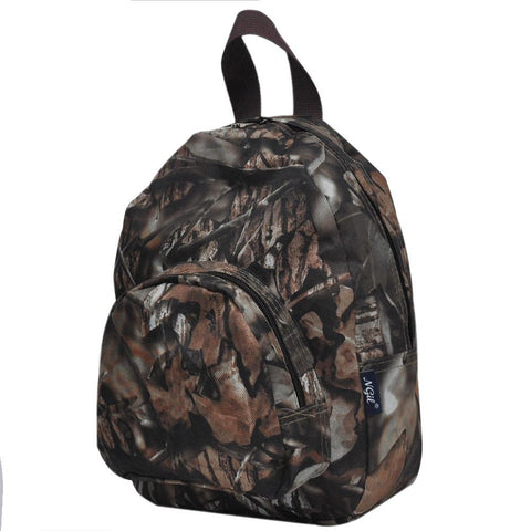 BnB Natural Camo Canvas Mini Backpack