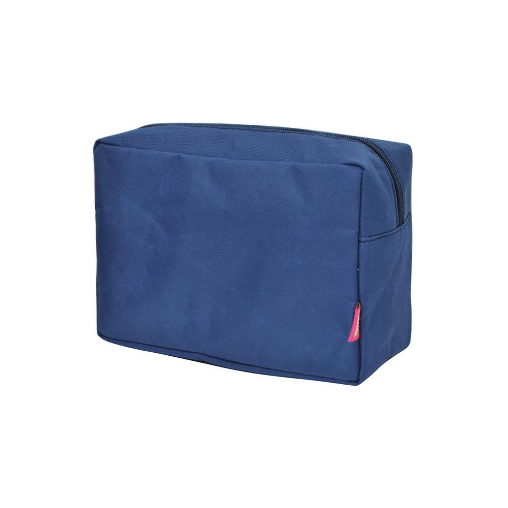 Solid Navy NGIL Large Cosmetic Travel Pouch