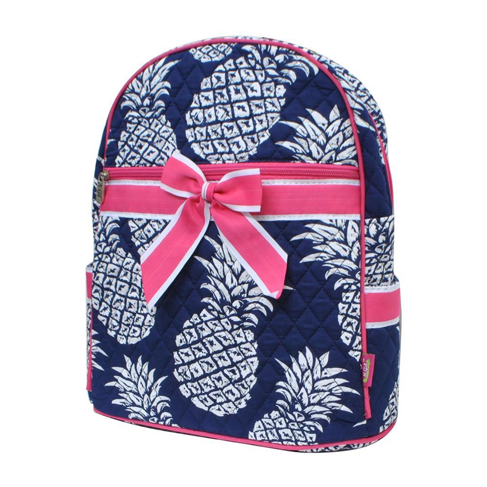Southern Pineapple NGIL Quilted Backpack