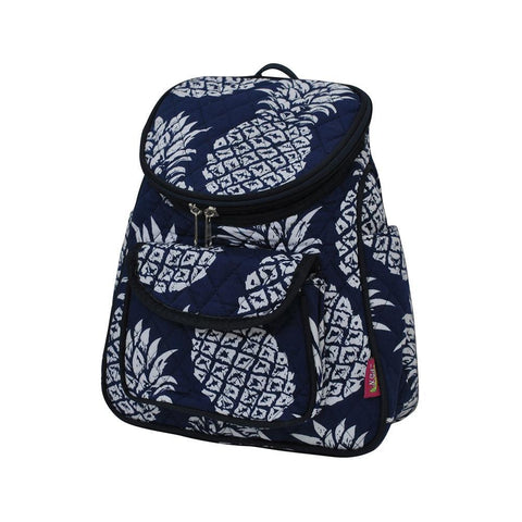 Southern Pineapple NGIL Quilted Mini Backpack