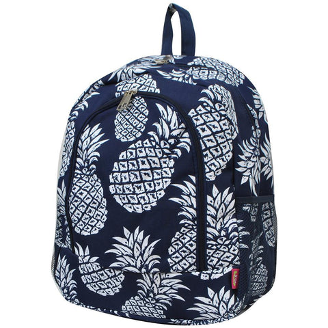 Southern Pineapple NGIL Canvas School Backpack