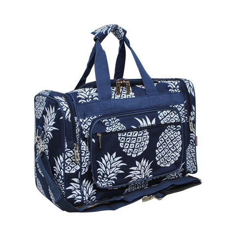 "Southern Pineapple NGIL Canvas 17"" Duffle Bag"
