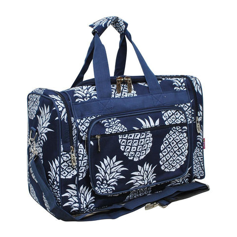 "Southern Pineapple NGIL Canvas Carry on 20"" Duffel Bag"