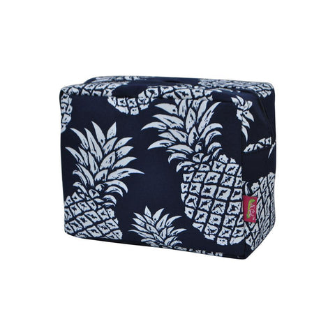 Cosmetic bags for travel, women's makeup bag set, makeup pouch for cheap, makeup gift idea, large monogram cosmetic bag, cosmetic organizer case, travel bags makeup artist, pineapple cosmetic bag, pineapple print cosmetic bag