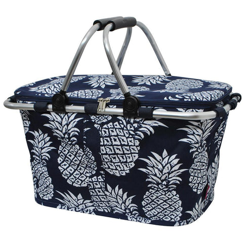 Southern Pineapple NGIL Insulated Market Basket