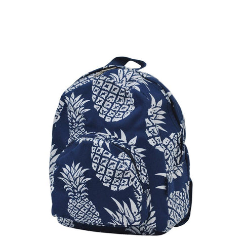 Southern Pineapple NGIL Canvas Mini Backpack