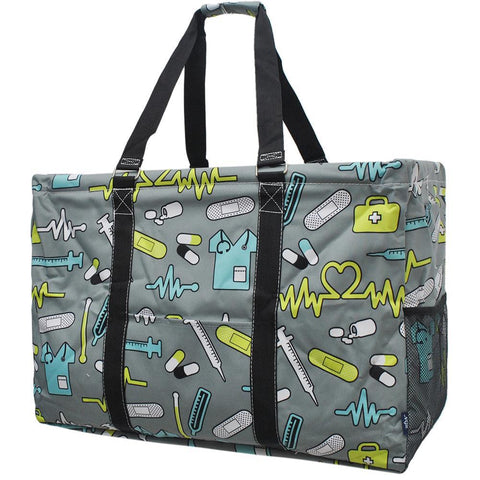 Nurse NGIL Mega Shopping Utility Tote Bag