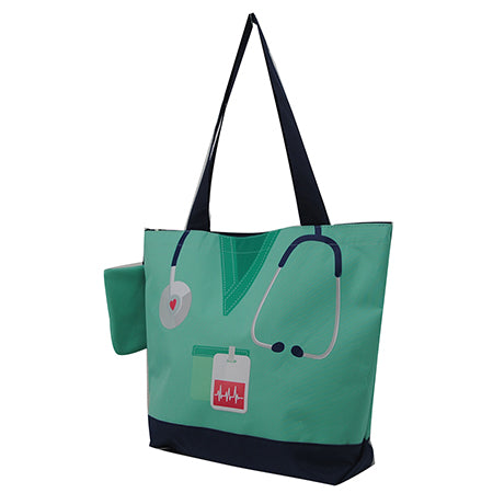Mint Nurse Life NGIL Canvas Tote Bag