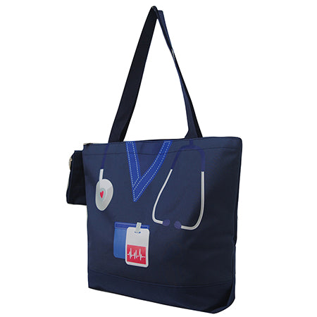 Navy Nurse Life NGIL Canvas Tote Bag