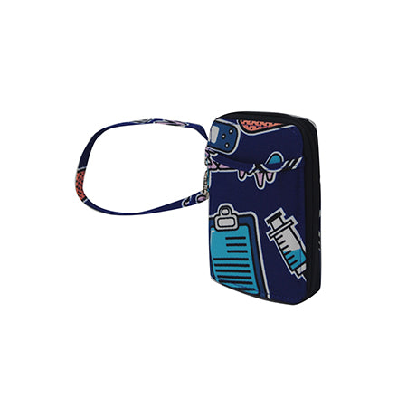 Nurse Life NGIL Canvas Wristlet Wallet