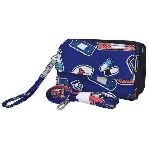Nurse NGIL Canvas All In One Wallet
