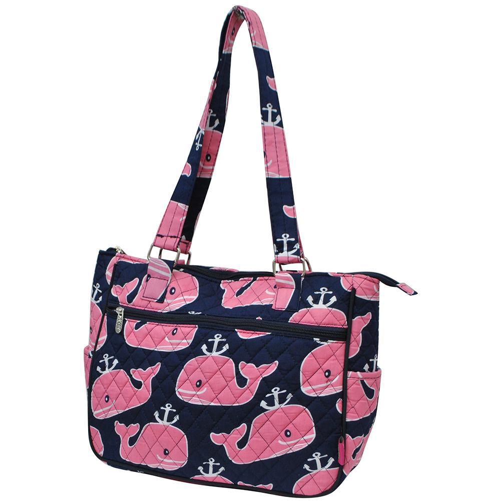 Pink Whale NGIL Double Handle Handbag