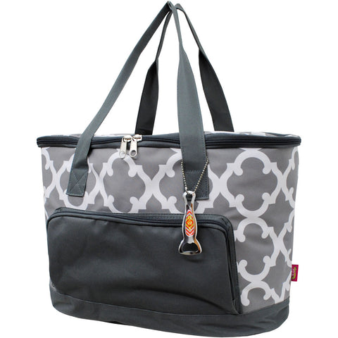 Geometric Clover Gray NGIL Cooler Bag