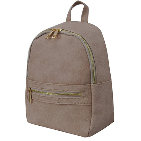 Sepia NGIL Faux Leather Mini Backpack
