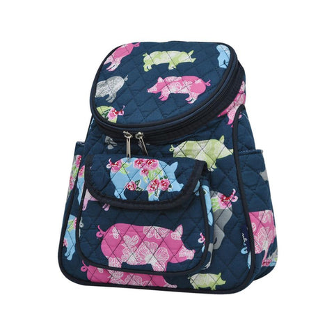 Pig In The Summer NGIL Quilted Mini Backpack