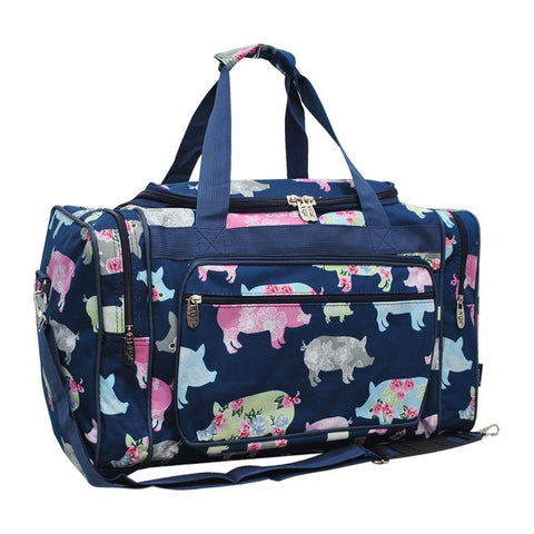 "Pig in the Summer NGIL Canvas 20"" Duffle Bag"