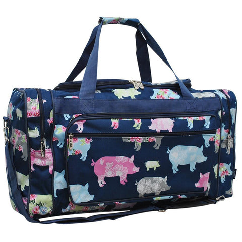 "Pig in the Summer NGIL Canvas 23"" Duffle Bag"
