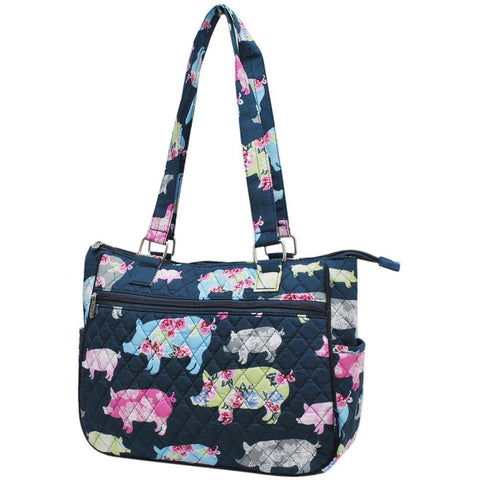 Pig In The Summer NGIL Double Handle Handbag
