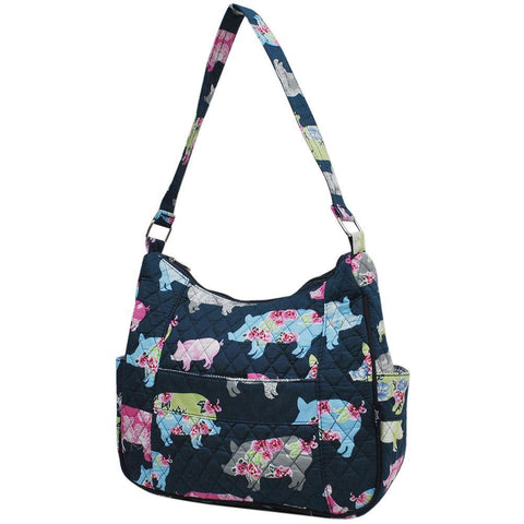Pig In The Summer NGIL Hobo Fashion Handbag