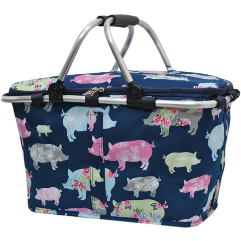 Pig in the Summer NGIL Insulated Market Basket