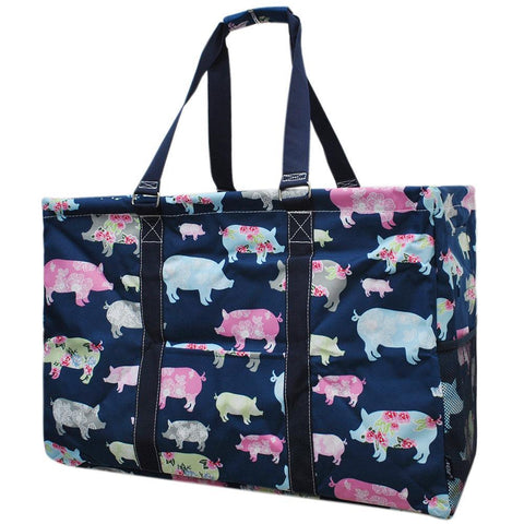 Pig In The Summer NGIL Mega Shopping Utility Tote Bag