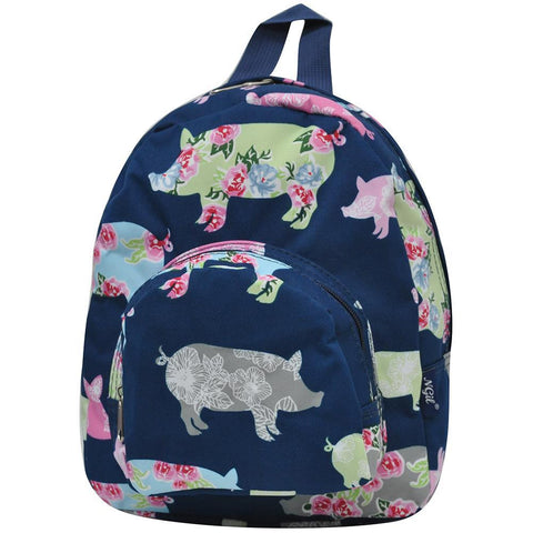 Pig In The Summer NGIL Canvas Mini Backpack