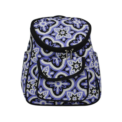 Quatrefoil Paradise NGIL Quilted Mini Backpack