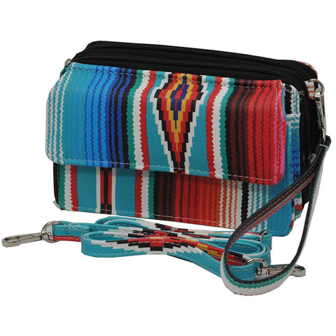 Serape NGIL Faux Leather All In One Wallet