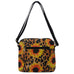 Leopard Sunflower NGIL Faux Leather Tassel Tote Crossbody