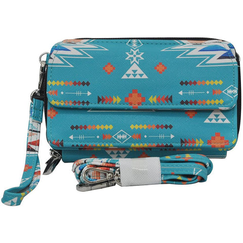 Southern Aztec & Serape NGIL  Leather All In One Wallet