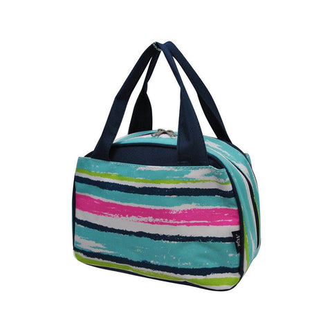 Rainbow stripes NGIL Insulated Lunch Bag