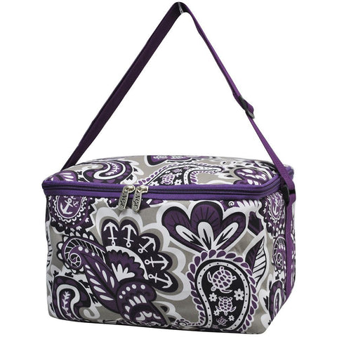 Purple Paisley Park NGIL Insulated Cooler Bag/Lunch Box