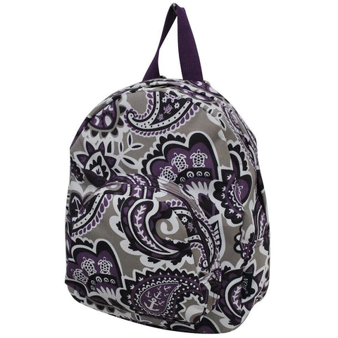 Purple Paisley Park NGIL Canvas Mini Backpack