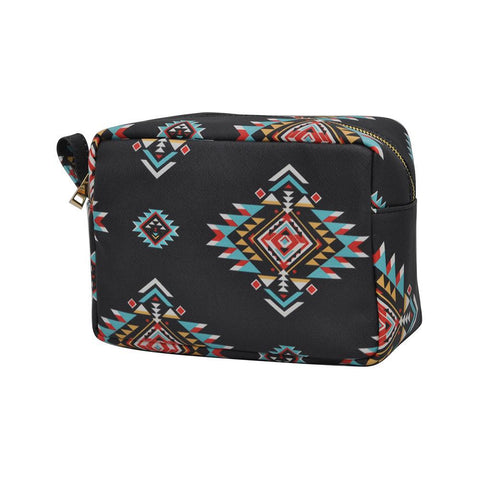 Southern Tribe NGIL Faux Leather Large Cosmetic Travel Pouch