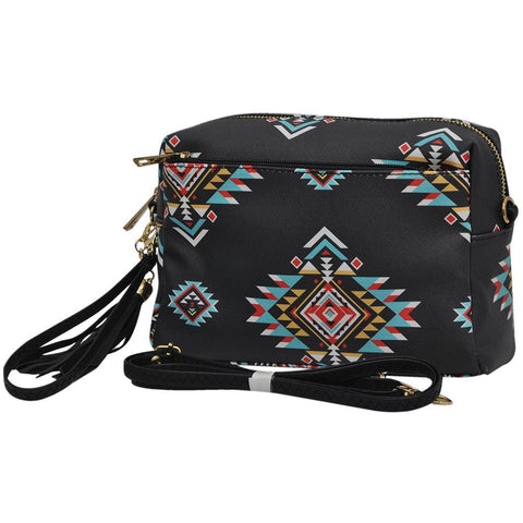 Southern Tribe NGIL Faux Leather Tassel Crossbody