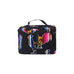 small travel tote for personal items, women's cute lipstick case, colorful wholesale bulk makeup powder compact travel case, mini airport bag for personal belongings, mini baby travel case, mini train case for women accessories, wholesale train case for children needs