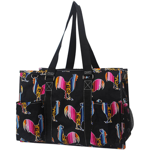 Farm animal large tote organizer for women, cute large caddy organizer, canvas water material beach totes wholesale, poolside large organizer wholesale bag, cheap wholesale large tote bags, cheap wholesale all season bags for organization