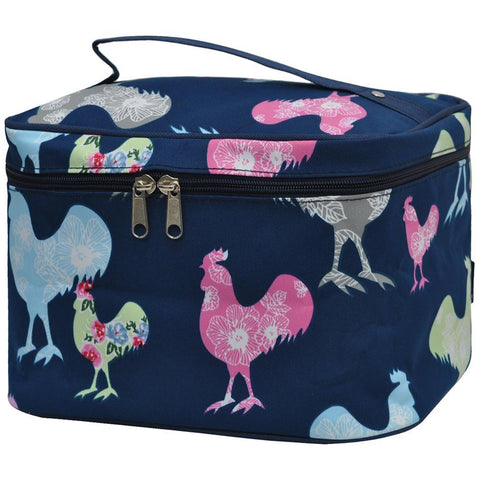 rooster makeup bags, rooster cosmetic bag, rooster gifts for Christmas, gifts rooster lovers, Cosmetic bag custom, makeup bag travel cosmetic, women's makeup bag travel, makeup bag for dancer, makeup organizer ideas, makeup bag personalized bride, cosmetic pouch wholesale,