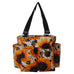 Cow Print with Sunflower NGIL Small Utility Tote