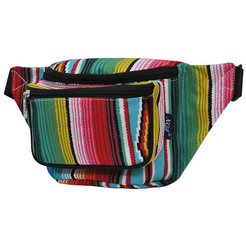 Fanny packs for girls, fanny packs for women, fanny packs in bulk, cool fanny packs, wholesale fanny packs, custom fanny packs cheap, cute serape fanny pack, serape fanny pack for girls, serape fanny pack to travel, personalized fanny packs wholesale.