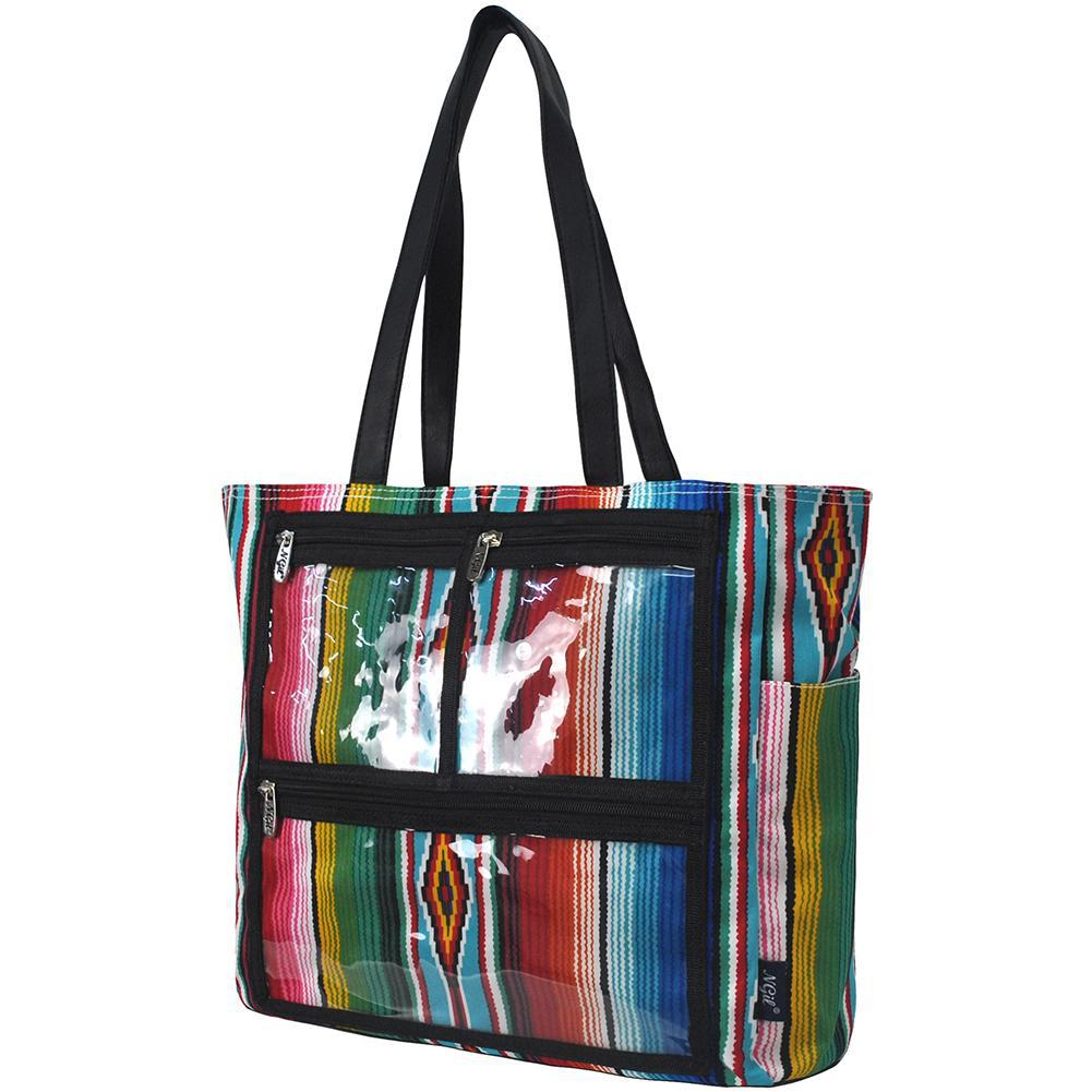 Serape Insert-able Photo NGIL Tote Bag